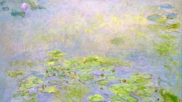 Claude Monet, Waterlilies, 1914-17. National Gallery of Australia in The Flowers of War.