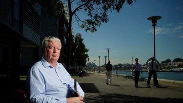 Alarmed: Tom O'Donnell owes $60,000.