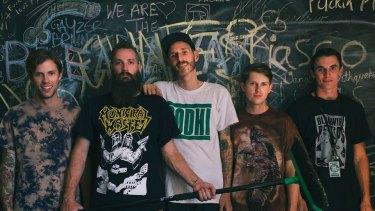 Perth band Miles Away.