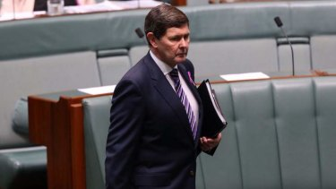 """""""It's not as if people have got no options"""": Social Services Minister Kevin Andrews."""