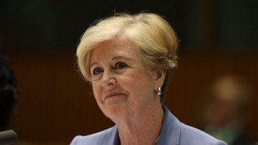 """Not going anywhere"": Australian Human Rights Commissioner Gillian Triggs."