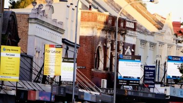 For lease signs are now a regular feature of Oxford Street's once bustling landscape.