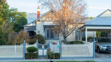 Vish Nandlall's Hampton home.