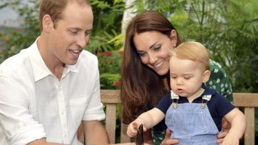 Expecting their second child: The Duke and Duchess of Cambridge.