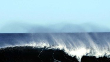 """The phenomenon happens at a stately pace, with perhaps one giant disc of water each year making it as far as the southern coast of Western Australia, after a journey of several years""."