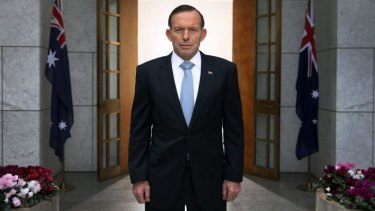 Tony Abbott is like a squirrel who has moved into a granary but can't help still burying acorns.
