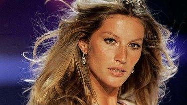 """...we're not all Gisele""... Brazilian supermodel Gisele Bundchen shows off her famous bikini-ready body."