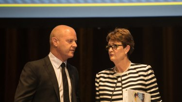 Comyn will replace outgoing chief Ian Narev (pictured) on April 9.