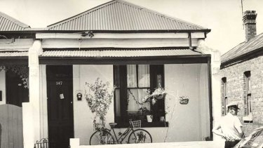The Collingwood house where Suzanne Armstrong and Susan Bartlett were murdered in 1977.