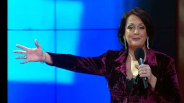 Night to forget...Wendy Harmer is still dogged by her 2002 Logies hosting performance.