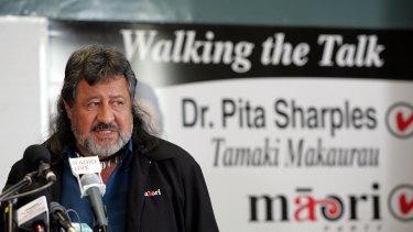 Shameful: former Maori Party leader Sir Pita Sharples has condemned the hakarena.