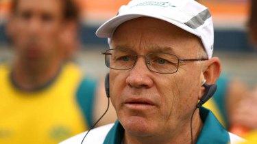 Outgoing Australia coach Ric Charlesworth.