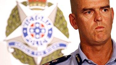 Victoria Police Chief Commissioner Simon Overland.