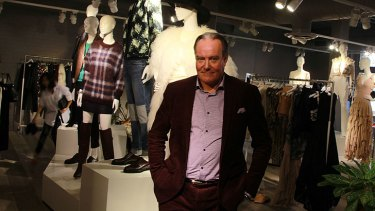 Hans Andersson, Australian country manager for H&M.