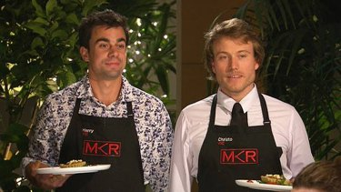 Not so peachy last time ... Harry and Christo are seeking to redeem themselves after their last instant restaurant.