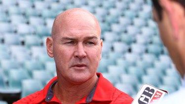 'I'm a bit annoyed': Dragons coach Paul McGregor.