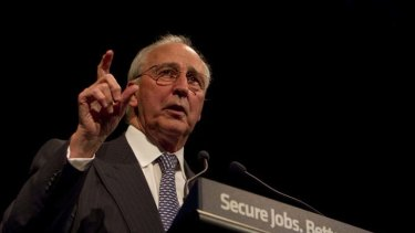 Home advantage ... Paul Keating wants banks to tap super funds.