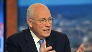 Dick Cheney on CNN defending the Bush policies.