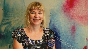 Journalism lecturer Renee Barnes.