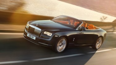 2015 Rolls-Royce Dawn convertible