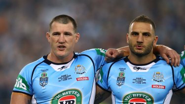Unfiltered: Paul Gallen and Robbie Farah.