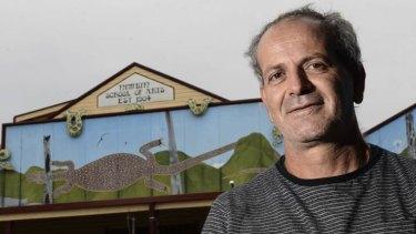 Andrew Kavasilas has a licence to grow industrial hemp in Nimbin, NSW.