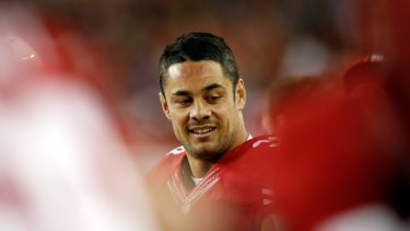 Big adventure ahead: Jarryd Hayne.