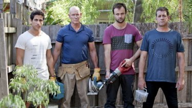 Dads have their day: <i>House Husbands</i> Firass Dirani, Gary Sweet, Gyton Grantley and Rhys Muldoon return for a second season.