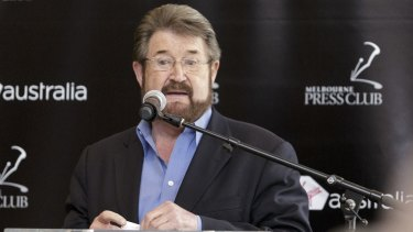 A spokeswoman says Derryn Hinch has not decided his position on company tax cuts.