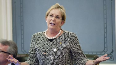 Liberal National Party MP Ros Bates has been referred to Parliament's ethics committee.