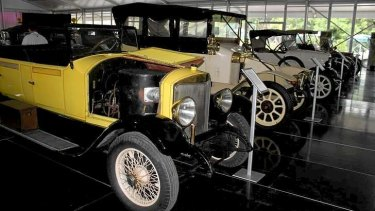 Vintage cars at Palmer's Motorama.