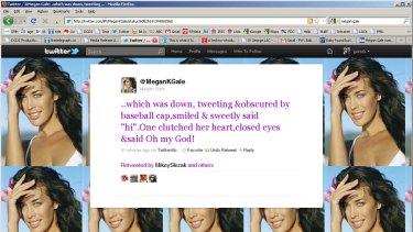 Megan's tweet today.