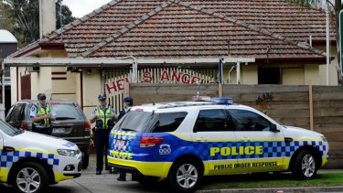 Hells Angels' HQ raided in crime crackdown