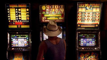 The modern pokie is capable of 350 bets in half an hour.