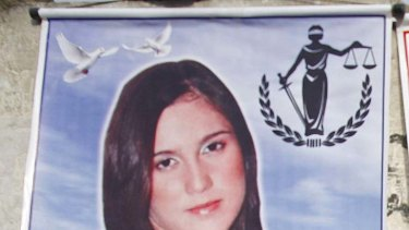 Murdered ... Stephany Flores.