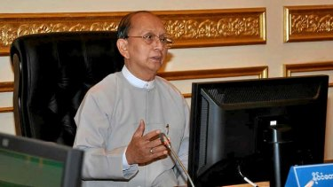 Myanmar President Thein Sein will meet with British PM David Cameron this week.