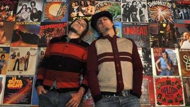 Tony and Sam Biondo. <i>Photo: Joe Armao</i>
