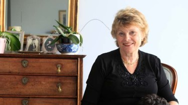 Chuffed … Trish Howman-Giles welcomes the return of a wedding ring stolen from her safe in 2008.
