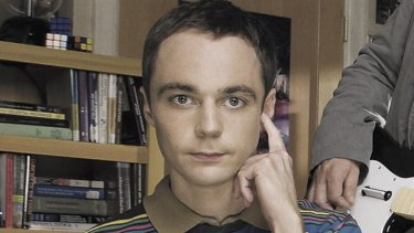 Jim Parsons plays Sheldon, the super-geek with an IQ of 187 on Nine's <i>The Big Bang Theory</i>.