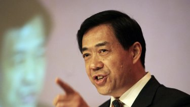 Chinese politician Bo Xilai.