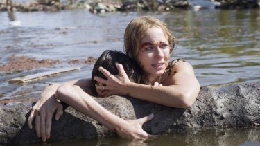 Bringing work home: Naomi Watts faced tough acting challenges in <i>The Impossible</i>.
