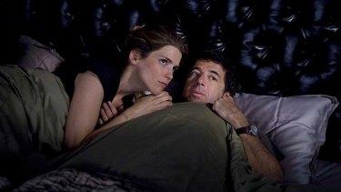 Channelling Woody Allen … Alice Taglioni and Patrick Bruel.