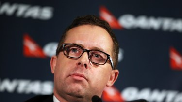 Lucinda Holdforth wrote Qantas chief executive Alan Joyce's speech when he grounded the airline in 2011.