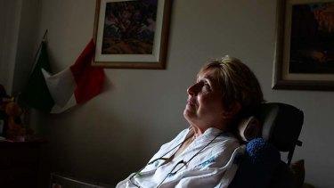 Hope set on Holland ... Loredana Alessio-Mulhall, 61.