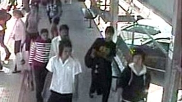 Police have released CCTV footage of St Albans railway station around the time of the attack.