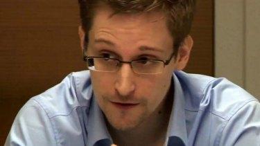Ex-NSA leader Edward Snowden