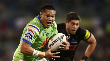 Star Canberra centre Joey Leilua injured his hamstring in the Raiders' preliminary final.