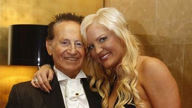 Geoffrey Edelsten and his wife Brynne ...  to her, the 40-year age gap seems irrelevant.