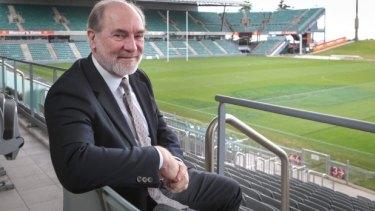 Big decisions to make: ARL chairman John Grant.