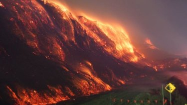 Still a hot issue: the Hazelwood coal mine fire.